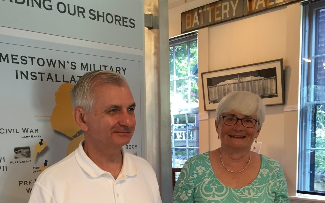 Sen. Jack Reed visits the JHS Museum
