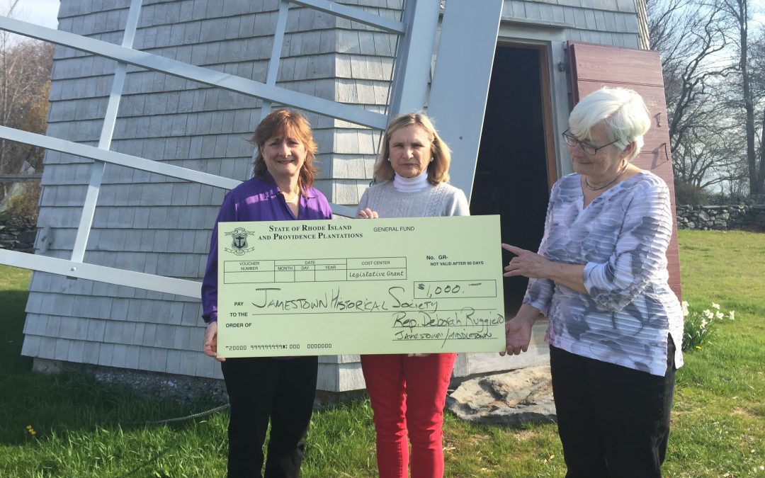 Jamestown Windmill Receives Legislative Grant