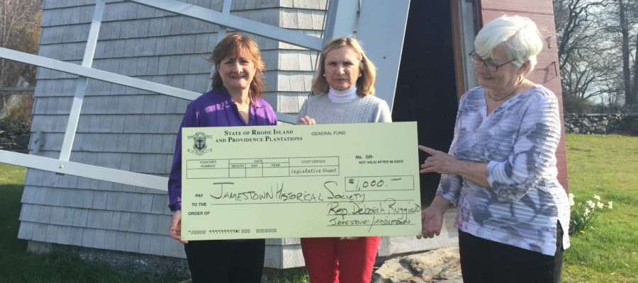Jamestown Windmill Receives Legislative Grant