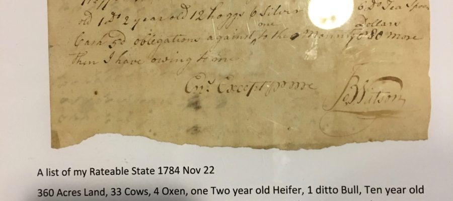 New Library Exhibit: Jamestown's North Farm