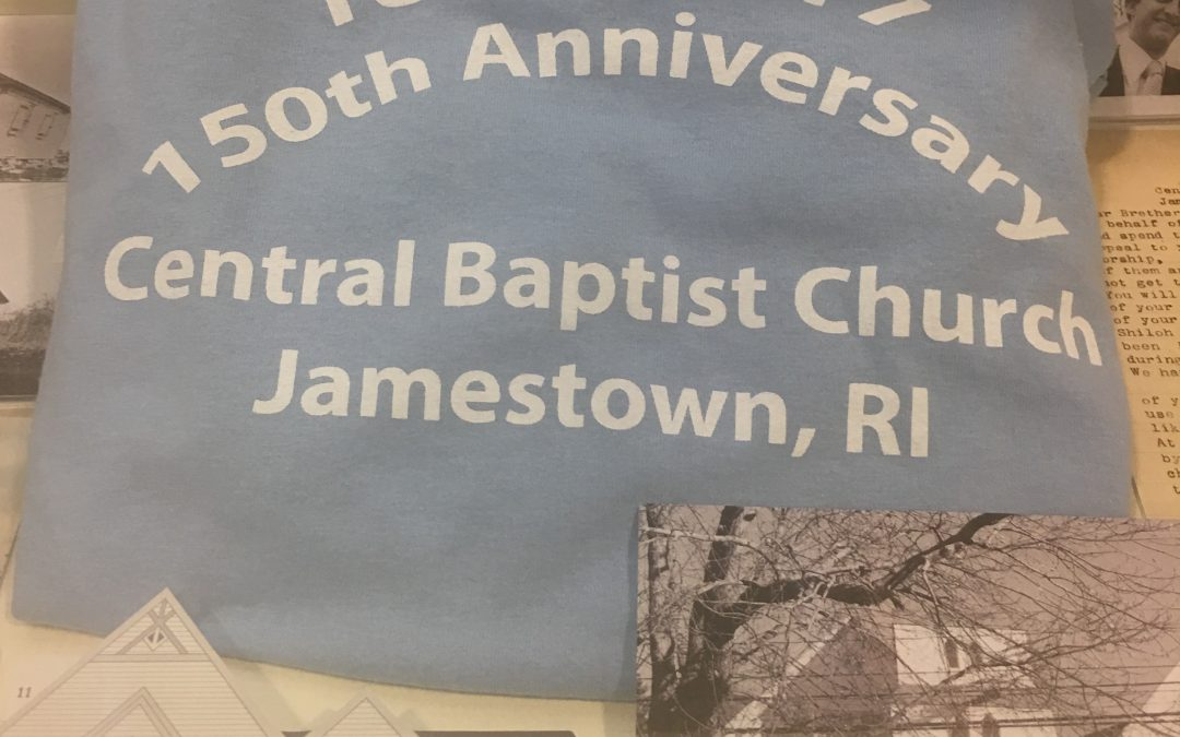 Library Exhibit – September 2017: 150th Anniversary – Central Baptist Church
