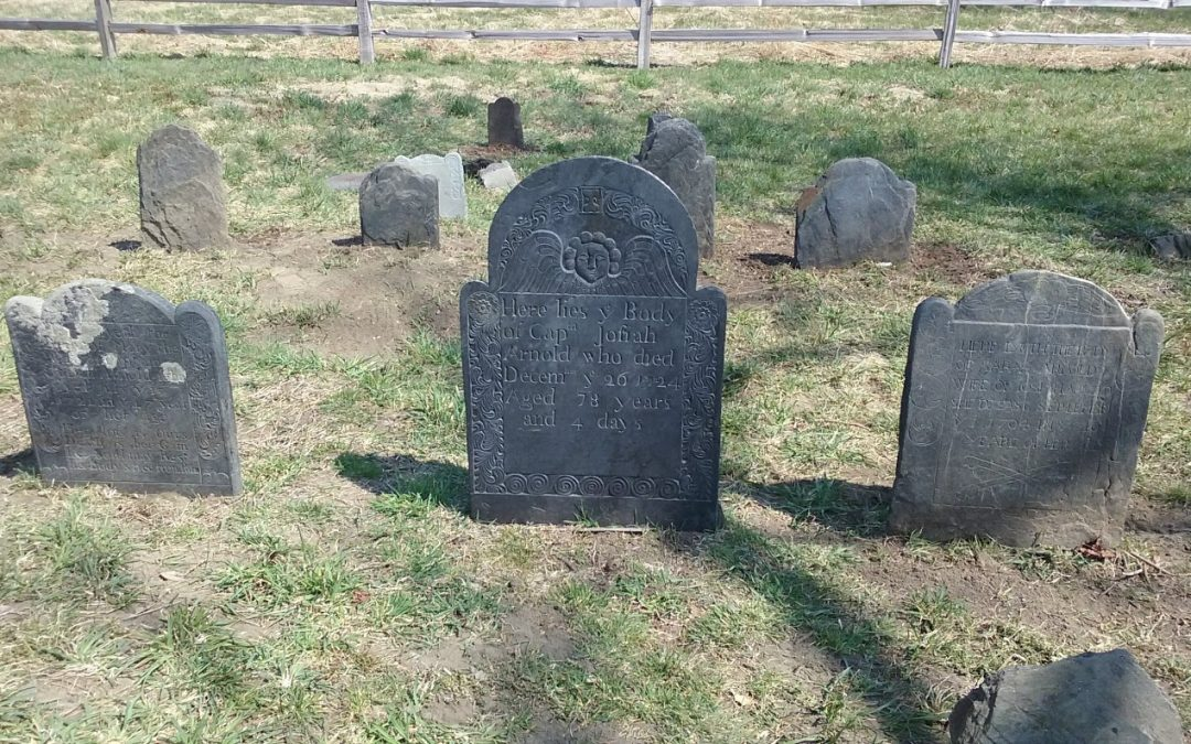 Restoration at Arnold Cemetery – April 2018