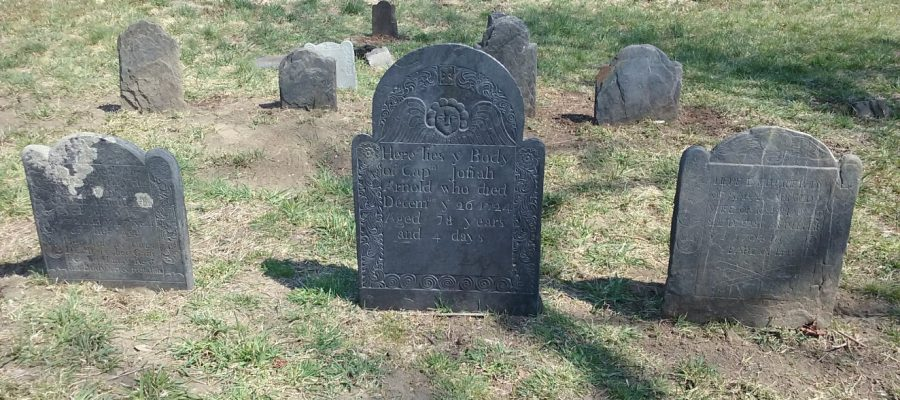 Restoration at Arnold Cemetery