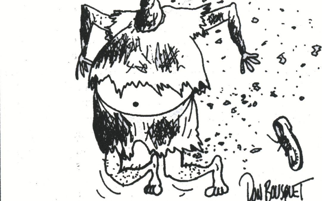 Library Exhibit – May 2018: Cartoons