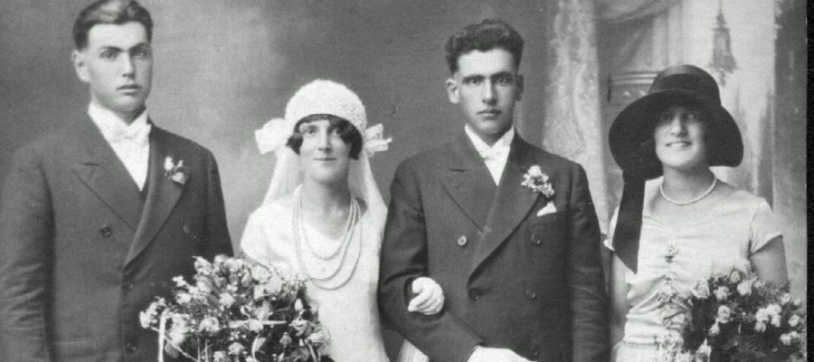 Library Exhibit – June 2018: Weddings