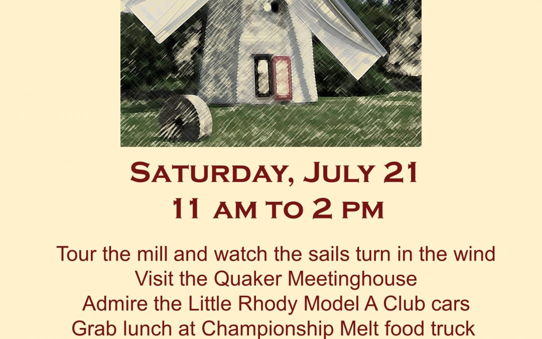 Windmill Day, July 21, 2018