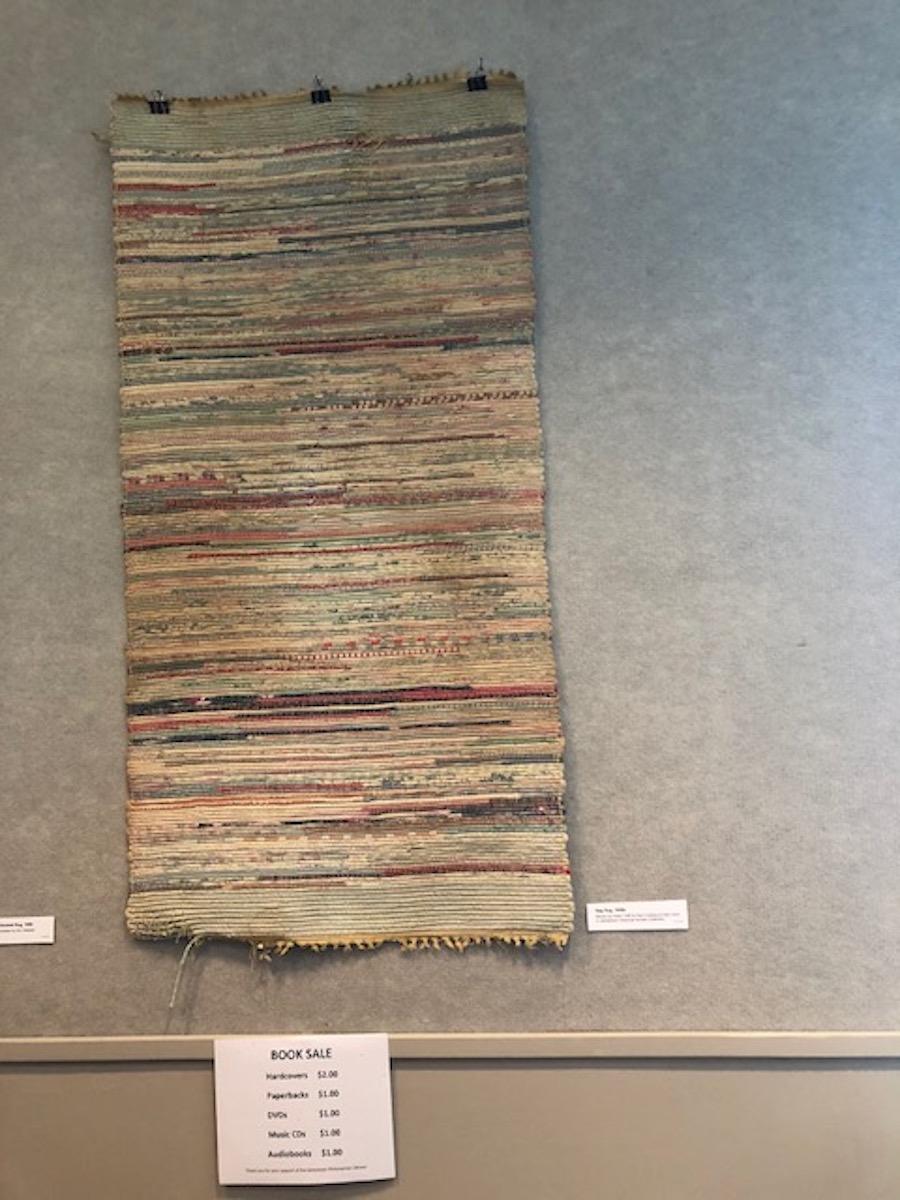 Jamestown Historical Society Library Exhibit Textiles