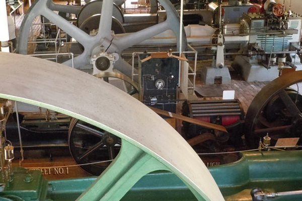 JHS visits The New England Wireless and Steam Museum