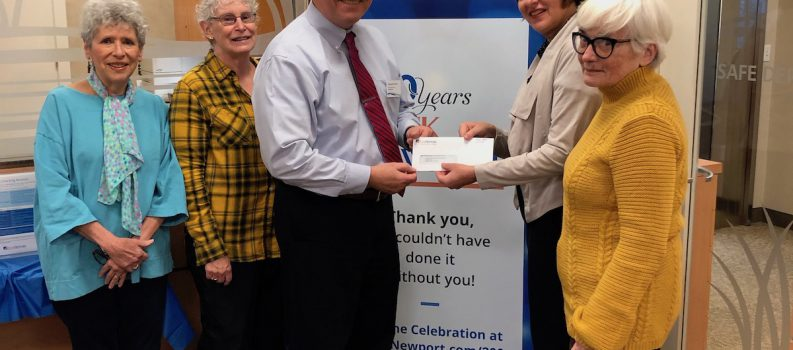 BankNewport gives JHS grant to support Battery Day 2019