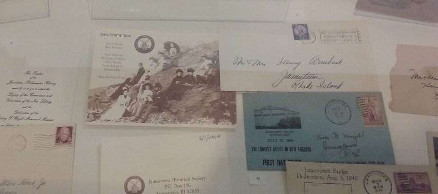 Library Exhibit, August 2019 Unusual Envelopes