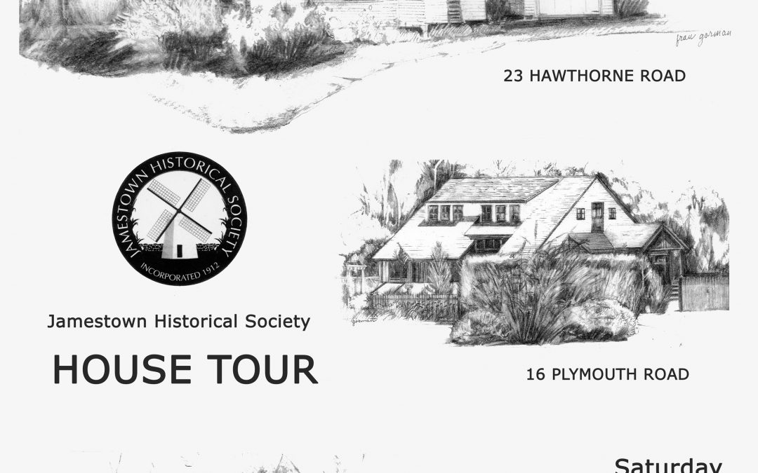 2019 House Tour – Saturday, Sept 14, 10am to 2pm