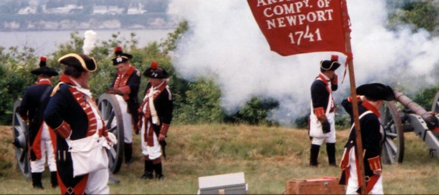Jamestown participates in new Rhode Tour: Revolutionary War Fortifications