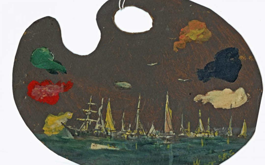 From the Collection – Francis X. West, Jamestown Painter
