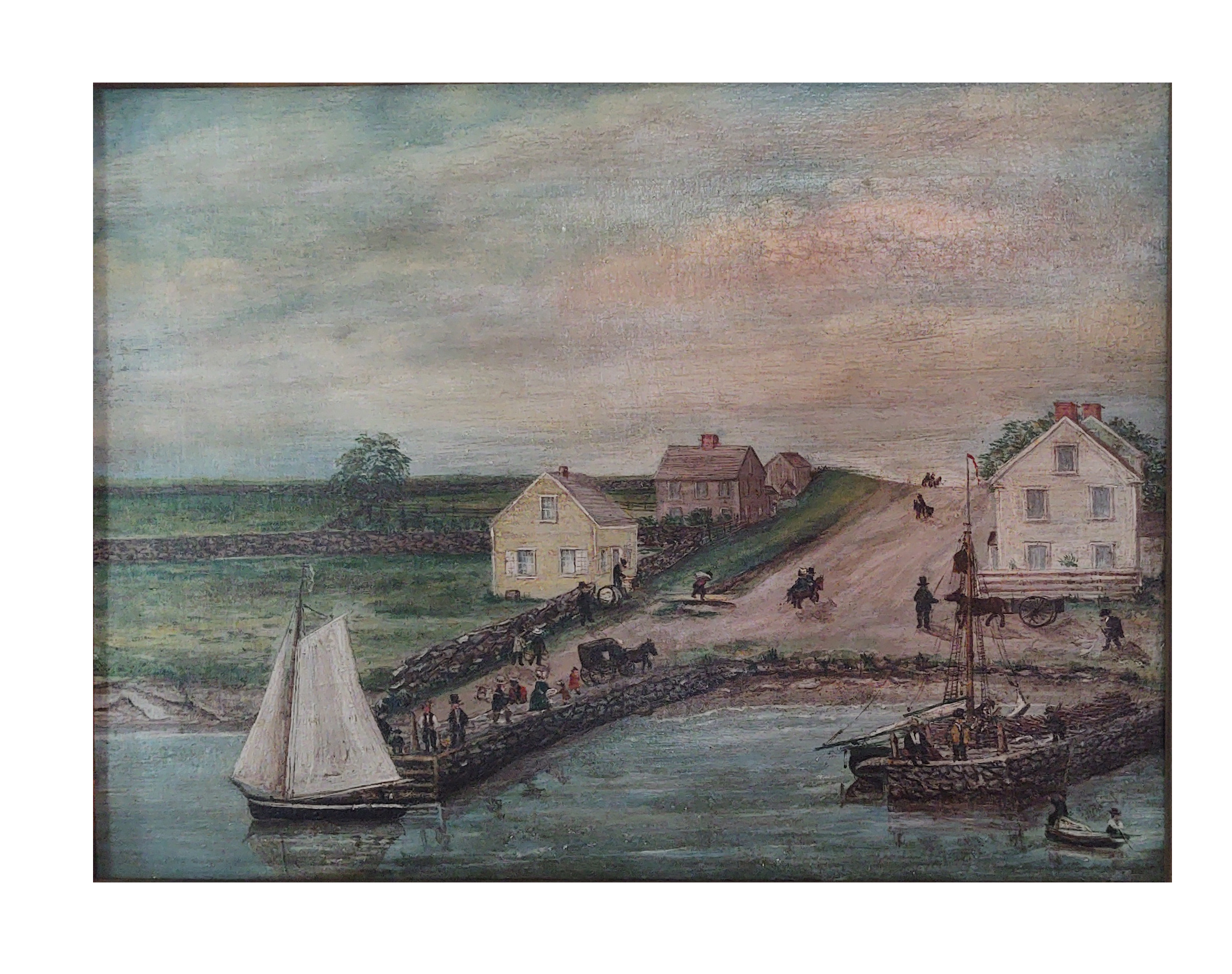 painting east ferry