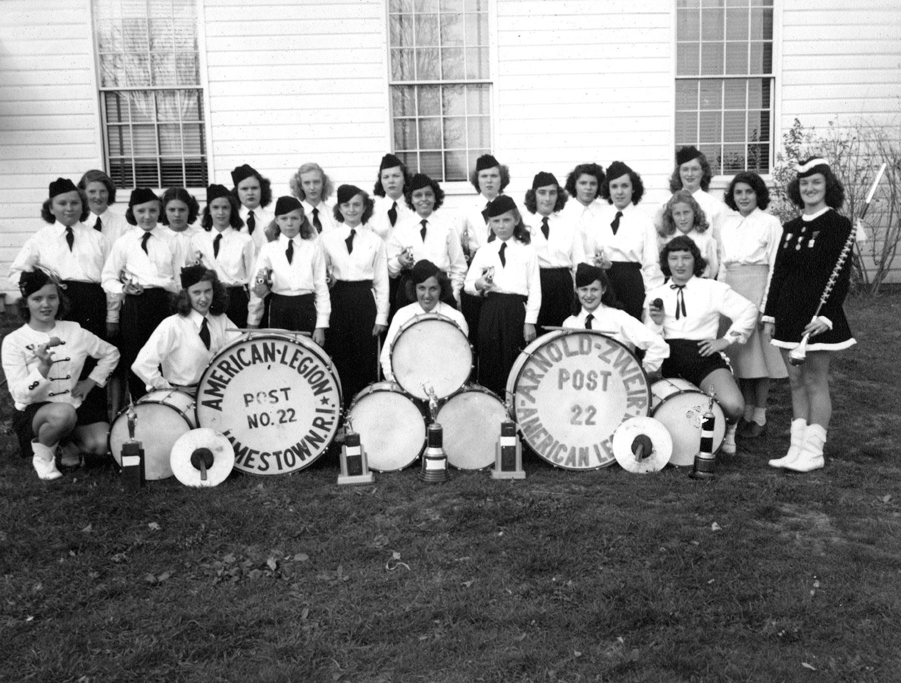 girls bugle corps 1948