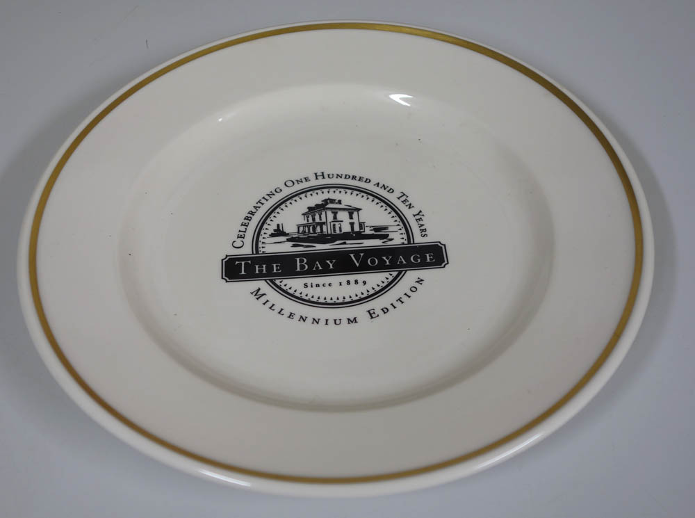 Bay voyage plate