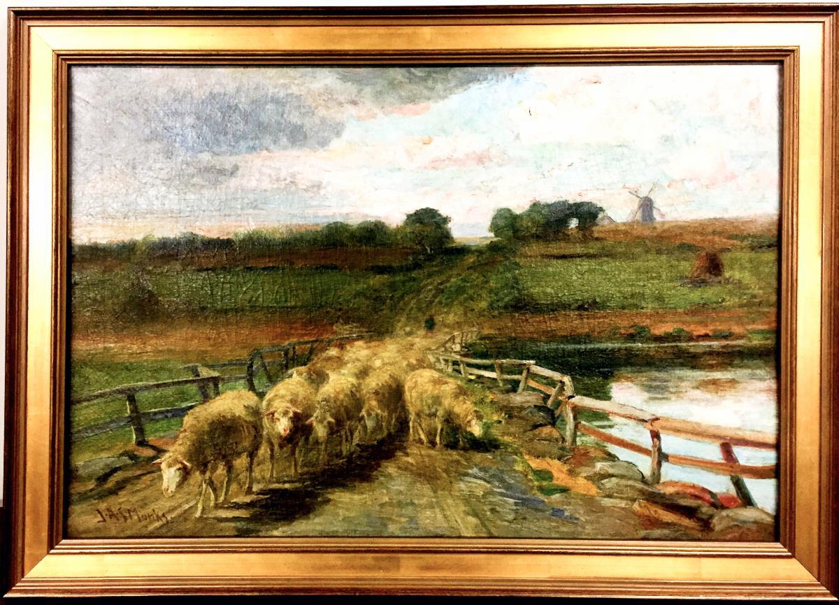 John Austin Monks painting