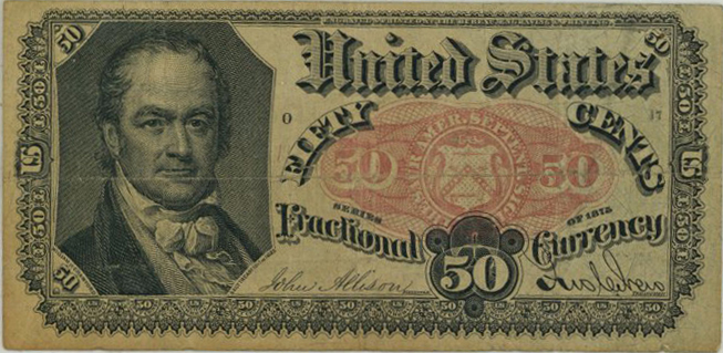 1875 - 50 cents