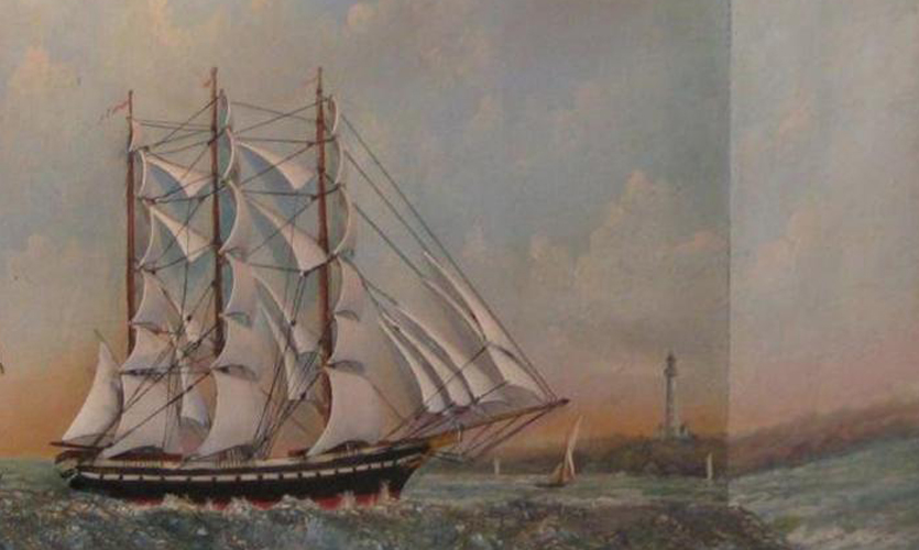 From the Collection – Ships Half Hull Models